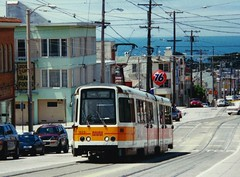 MUNI Boeing Streetcar Taraval and 27th (bishop71701) Tags: ocean sanfrancisco 2000 trolley muni l boeing streetcar taraval strassenbahn lrv