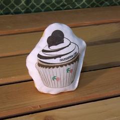 Cat Toy - Chocolate Cupcake (made by mauk) Tags: cat toys catnip spoonflower madebymauk