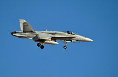 DSC_3250 (Eleu Tabares) Tags: las vegas red airplane fighter force exercise flag aircraft air nevada jet australian royal hornet base warplane fa18 nellis
