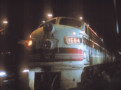 CB&Q F7 168A (Chuck Zeiler) Tags: railroad burlington locomotive chz f7 emd cbq 168a