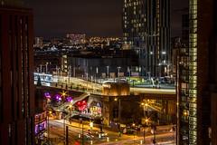 G Mex Deansgate (0-1-6-1) Tags: longexposure manchester cityscape traffic tram citycentre deansgate beethamtower deansgatelocks manchestercitycentre