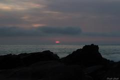 Red Giant (zigglegigglerox) Tags: pink sunset red sea sky sun seascape color love nature water clouds landscape wanderlust adventure planet wanderer