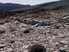 Ikaria's remotest hinterland 34 - on the track of an old handmade motor-road (angeloska) Tags: hiking ikaria aegean greece february deforestation pezi desertification hinterland hikingtrails   langada overgrazing     vrakades  opsikarias