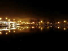Night walk #night #nightphotography #fog ##river #lights #shadows #bridge #nature #naturephotography #winter #nikon #coolpix #L840  #landscape (goatrip69) Tags: nightphotography bridge winter nature fog night river landscape lights nikon shadows coolpix naturephotography l840