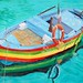 "Italian Workboat II - 30"" x 40"" - Oil - sold"