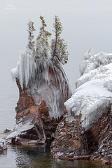 Tettegouche (Boreal Bird) Tags: winter frozen northshore lakesuperior seastack tettegouche shovelpoint