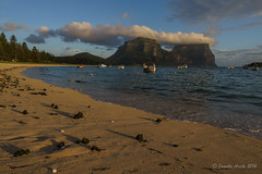 Afternoon light on Lord Howe Is (NettyA) Tags: day2 light shadow cloud seaweed beach boats afternoon australia nsw unescoworldheritage lordhoweisland thelagoon lhi mtgower mtlidgbird lordhoweforclimate