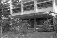 Llamas Science Hall (pishboy) Tags: bw film up canon 100 diliman xtreme ftb parodinal ultrafine