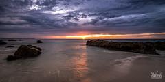 'Stretching forth' (Macrow Photography) Tags: ocean longexposure sunset seascape beach clouds sand nikon rocks australia wideangle d750 coastline southaustralia tokinaaf1116mmf28
