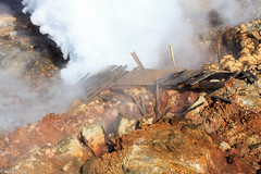 Gunnuhver (holger.torp) Tags: hot spring explosion steam geyser reykjanes hver gunnuhver hverasvi