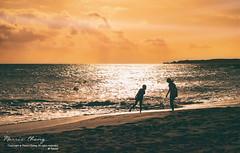 Sunset. Kenting, Taiwan ( (Morris)) Tags: ocean light sunset sky orange nikon outdoor ngc taiwan   kenting