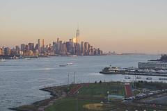 NYC sunset (joelmastrantuono) Tags: new nyc sunset sony jersey manhatten weehawken a6000