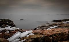 In my dreams #3 (Mika Laitinen) Tags: ocean longexposure winter sea sky seascape ice nature water rock suomi finland landscape seaside helsinki calm shore serene suomenlinna dreamscape uusimaa