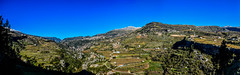Lasa Kartaba Abboud And Hdaine Villages, Lebanon (Paul Saad (( ON/OFF ))) Tags: sky lebanon mountain landscape nikon outdoor pano hill panoramic ridge valley mountainside hq hdr  lasa abboud jbeil qartaba  afka kartaba   artaba hdaine