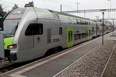 BLS Ltschbergbahn DOSTO - Doppelstockzug Mutz RABe 515 006 mit Taufname Kniz vom Typ KISS der Firma Stadler Rail am Bahnhof Bern Bmpliz Nord bei Bern im Kanton Bern der Schweiz (chrchr_75) Tags: hurni christoph schweiz suisse switzerland svizzera suissa swiss chrchr chrchr75 chrigu chriguhurni mrz 2016 chriguhurnibluemailch bahn eisenbahn schweizer bahnen zug train treno stadler rail dosto doppelstockzug doppelstcker rabe 515 bls ltschbergbahn mutz albumblsltschbergbahn albumbahnenderschweiz juna zoug trainen tog tren  lokomotive  locomotora lok lokomotiv locomotief locomotiva locomotive railway rautatie chemin de fer ferrovia  spoorweg  centralstation ferroviaria