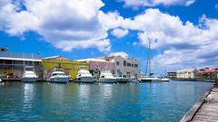 Barbados 2016 (GWarner4s) Tags: sea sky food sun holiday hot beach boat sand drink bluesky palmtrees catamaran barbados atlanticocean carribbean