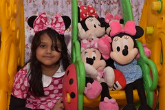 The MInnie (Zahid - Thanks for the views ,Favs and comments) Tags: red portrait people color green girl yellow children toys kid dolls play curtain daughter indoor games cutie ribbon lovely