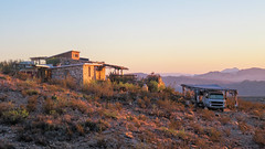 Terlingua, Texas (dckellyphoto) Tags: old morning house mountains rock sunrise texas desert rocky dry terlingua van 2016
