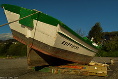 barca no peirao de neda (breijar - MARCOS LOPEZ ALONSO) Tags: muelle barca neda embarcacin