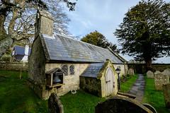Old Church of St. Lawrence, St. Lawrence, isle of Wight (Rogpow) Tags: church graveyard fuji isleofwight stlawrence fujifilm fujixt1