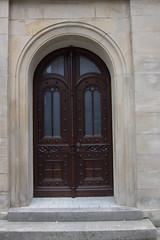 Double door (quinet) Tags: door germany porte tr 2012 castleroad burgenstrase
