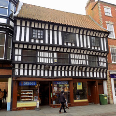 Governor's House, Newark on Trent (Goolio60) Tags: wood building medieval newark nottinghamshire timbered