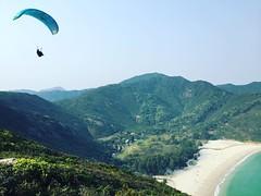 Paragliding day In Long Kee Wan / Sai Kung #HongKong #paragliding