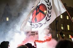 Million Masked March London 2015 (kylecollardart) Tags: people london march flag protest million masked anonymous flair 2015