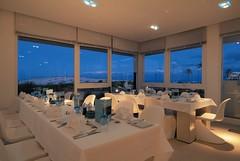 RSH Djerba (Primatours) Tags: hotel design djerba fenster kerze resort dmmerung tisch interiordesign glas ausblick tunesien windlicht torquoise radissonsas gedecktertisch 4sterne lichtstimmung rezidor festlich