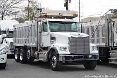 Freightliner 122SD Tri-Axle Dump (Trucks, Buses, & Trains by granitefan713) Tags: new truck dumptruck dump end freightliner newtruck triaxle freightlinertruck liftaxle freightliner122sd 122sd newdumptruck jjtruckbodies jjdumpbody