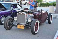 Cruisin' Grand 8/21/15 (USautos98) Tags: ford modela hotrod rockabilly custom streetrod 1930