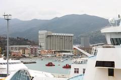 Vado Ligure Port (demeeschter) Tags: sea italy port boats harbour corsica ferries vado ligure