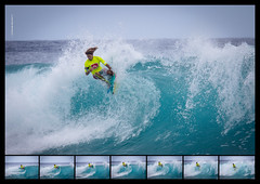 Floater Sequence (Akou.tv) Tags: reunion drop knee bodyboard floater 974