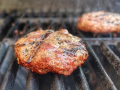 POTD 104 (Webtraverser) Tags: burgers grilling whatsfordinner potd2016 pictureaday2016 366picturesin2016