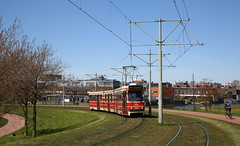 Laatste dag (Maurits van den Toorn) Tags: trolley tram denhaag streetcar tramway thehague strassenbahn wateringen bombardier tranvia wateringseveld villamos elctrico htm gtl lijn17