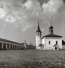 19780821031sc12_Suzdal (Boris (architectural photography)) Tags: blackandwhite church architecture religious blackwhite russia architect sacred russian eastern orthodox suzdal sovietunion