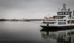 Ferry to Castle of Finland (Mika Laitinen) Tags: ocean sea suomi finland helsinki shore suomenlinna ef24105mmf4lisusm castleoffinland canon7dmarkii