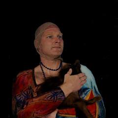 Dama con l'ermellino (jopperbok) Tags: portrait selfportrait male animal female portraits painting ermine davinci fox cecilia leonardo wah selfie gallerani werehere hereios jopperbok