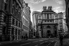 Lombard Street, London (Syed Ali Warda) Tags: uk england blackandwhite building london architecture clouds canon landscape flickr cityscape artistic culture cityscapes architectural walkietalkie tallbuilding lombardstreet centrallondon tallbuildings greatphotographers londoncentral giantbuilding canon7d syedaliwarda