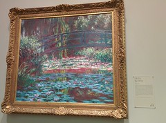Monet at the Art Institute of Chicago (vagueonthehow) Tags: waterlilies impressionism impressionist claudemonet theartinstituteofchicago