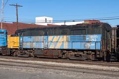 IMG_9730 (rmssch89) Tags: old 3 mountains diesel pennsylvania antique smoke iii rusty class shops scrap deadline alco pocono shortline