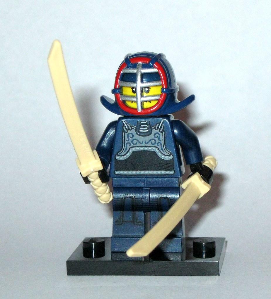 LEGO Bau- & Konstruktionsspielzeug 12 Kendo Fighter Lego Minifigure Series 15-71011 Baukästen & Konstruktionsspielzeug