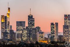 Frankfurt am main (Stephan Strange Photography) Tags: city sunset red skyline skyscraper sonnenuntergang sundown frankfurt commerzbank hochhaus ubs hochhuser helaba citylites