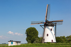 De Witte Molen - Meeuwen (N.Br.) (alwinoll) Tags: thenetherlands meeuwen northbrabant