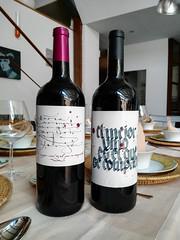 Custom wines labels (jorge_regueira escrito a mano) Tags: wine labels calligraphy vino caligrafa etiqueta