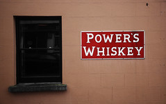 Power's Whiskey, Wexford (D.I. Hammonds) Tags: county street ireland red orange sign wall photoshop canon advertising eos back alley power edited south ad whiskey east advert powers wexford edit advertise 1200d