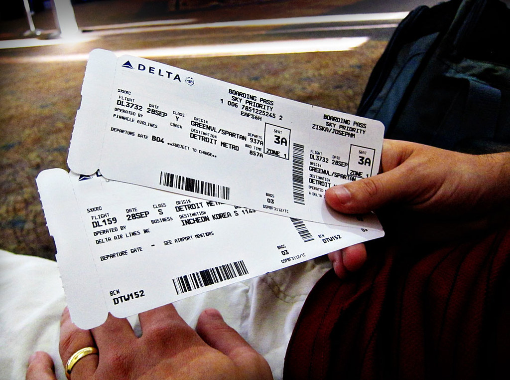 Air plane ticket