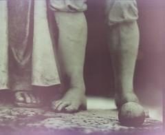 Feet of Marble (Superfluous Man) Tags: kodakportra160vc stbonaventure pentax6x7 supermulticoatedtakumar 105mmf24