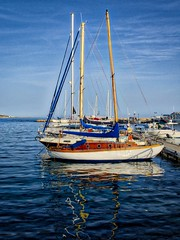Paphos (Sergey Galyonkin) Tags: sea water harbor spring cyprus april paphos 2016