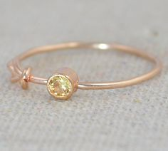 Topaz Infinity Ring, (alaridesign) Tags: november rose by gold infinity knot ring mothers filled rings topaz birthstone stackable alaridesign